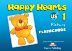 Happy Hearts. 1 Flashcards. Наглядный материал
